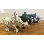 Large Beaded Rhino