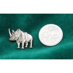 The Australian Rhino Project Pin